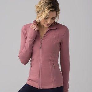 Nwt lululemon define jacket 2 mauve dusty rose